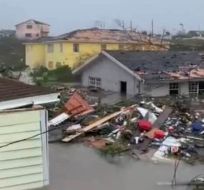 Hurricane Dorian claims 5 lives in Bahamas: Minister takes video of flooding