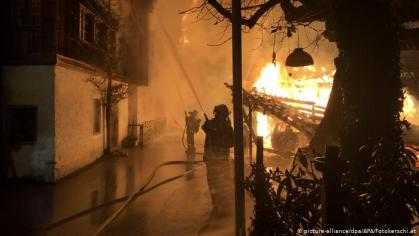 World Heritage site destroyed after Fire in Austria