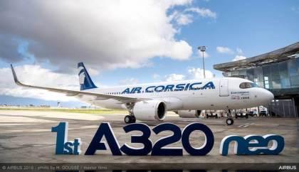 Air Corsica received A320 Neo