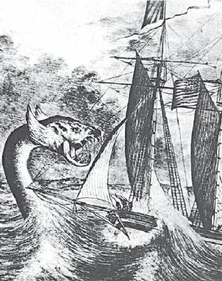 Морской змей. Норвежский фольклор.