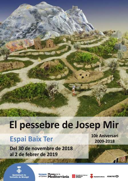El pessebre de Josep Mir al Museu - 10è Aniversari