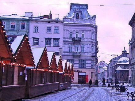 Новогодний тур во Львов из Киева / выходные во Львове + зимние карпаты
