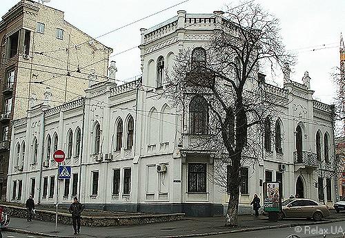 Будівля на бульварі Т.Шевченка, 34