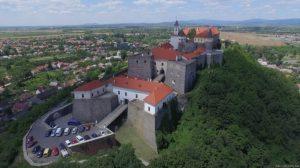 Середньовічний зaмок у Мукaчевому нa Зaкaрпaтті