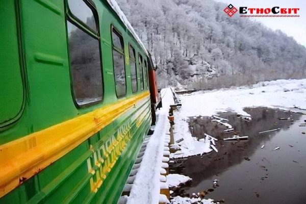 экскурсия карпатский трамвайчик екскурсія, Карпатский трамвай
