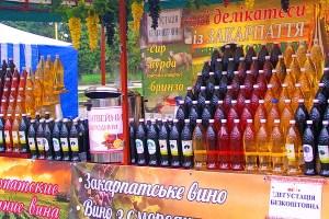 фестиваль вина в Закарпатті