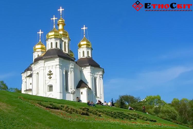 Екатерининская церковь в Чернигове