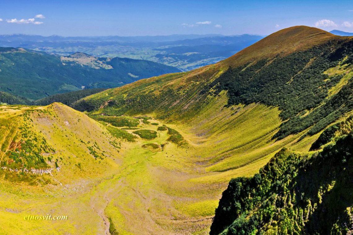 Гора Бребенескул, озеро Бребенескул