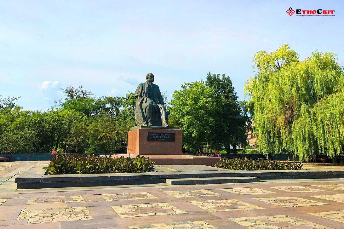 Винница туристическая   Памятник Коцюбинскому