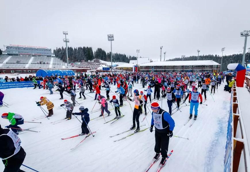 Столица Югры готовится к лыжному марафону