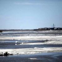 Ледоход подходит к границам Югры