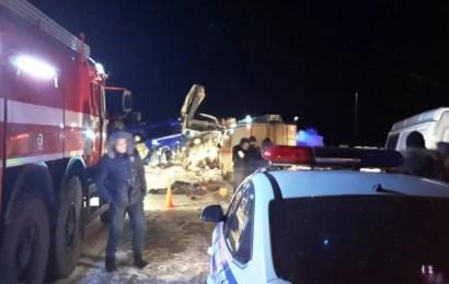 В Нефтеюганском районе в ДТП погибли 6 человек.