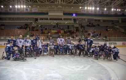 """Хоккейный клуб """"Югра"""" провел матч для детей с ограниченными возможностями здоровья"""