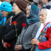 Сотни жителей Нефтеюганска этим утром встретили «Рассвет Победы».