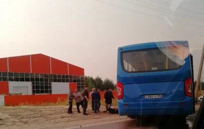 Четыре человека пострадали в ДТП с  участием двух автобусов в Нефтеюганске