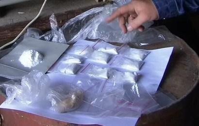 Полицейские Лангепаса изъяли у нефтеюганца более 64 граммов наркотиков
