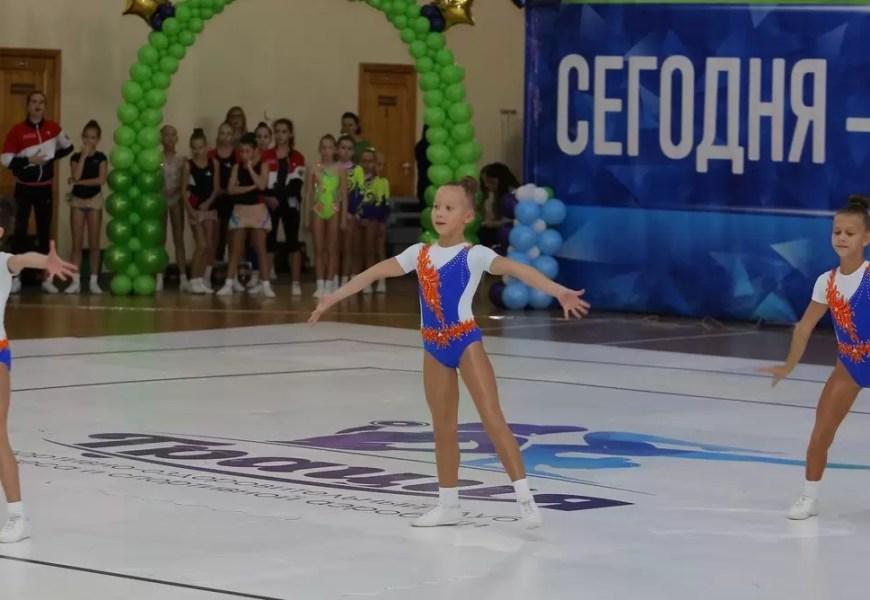 Нефтеюганск принимает Всероссийские соревнования по спортивной аэробике.