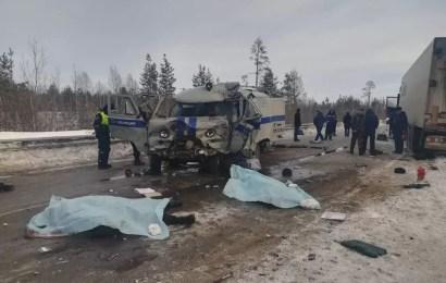 Направлявшиеся в Нефтеюганск из Нижневартовска полицейские погибли в ДТП