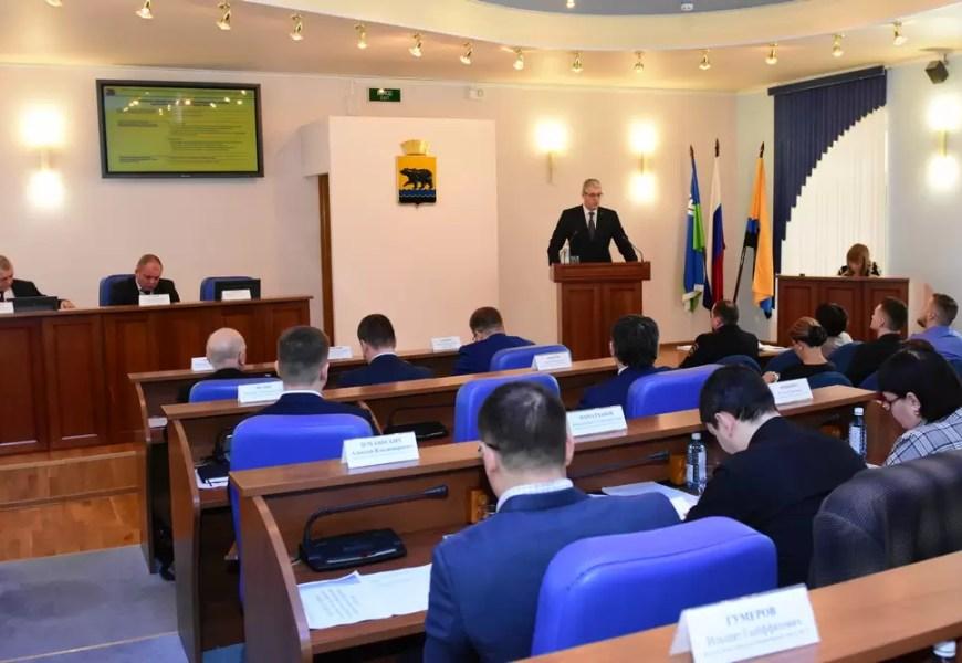 Глава Нефтеюганска отчитался перед думой за 2019 год.
