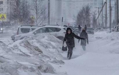 МЧС: В ближайшие дни в Югре ожидаются метель, изморозь, порывистый ветер!
