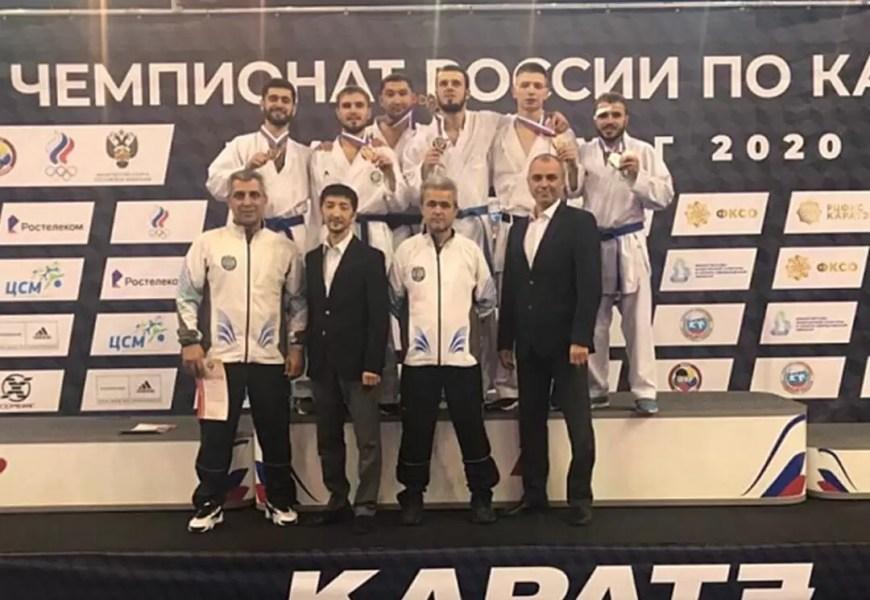 Мужская сборная Югры выиграла командные соревнования чемпионата России по каратэ