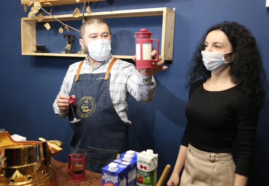 Мастер-класс по приготовлению профессионального кофе прошел в рамках «Недели Качества»