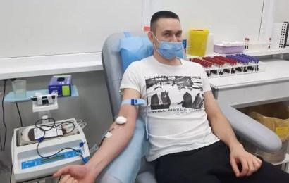 В Югре в окружной станции переливания крови прошла донорская акция