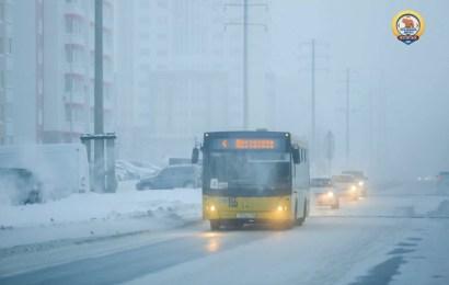 Госавтоинспекция Нефтеюганска предупреждает автомобилистов об опасности резкого похолодания и обращаются к водителям с просьбой быть внимательнее на дорогах.