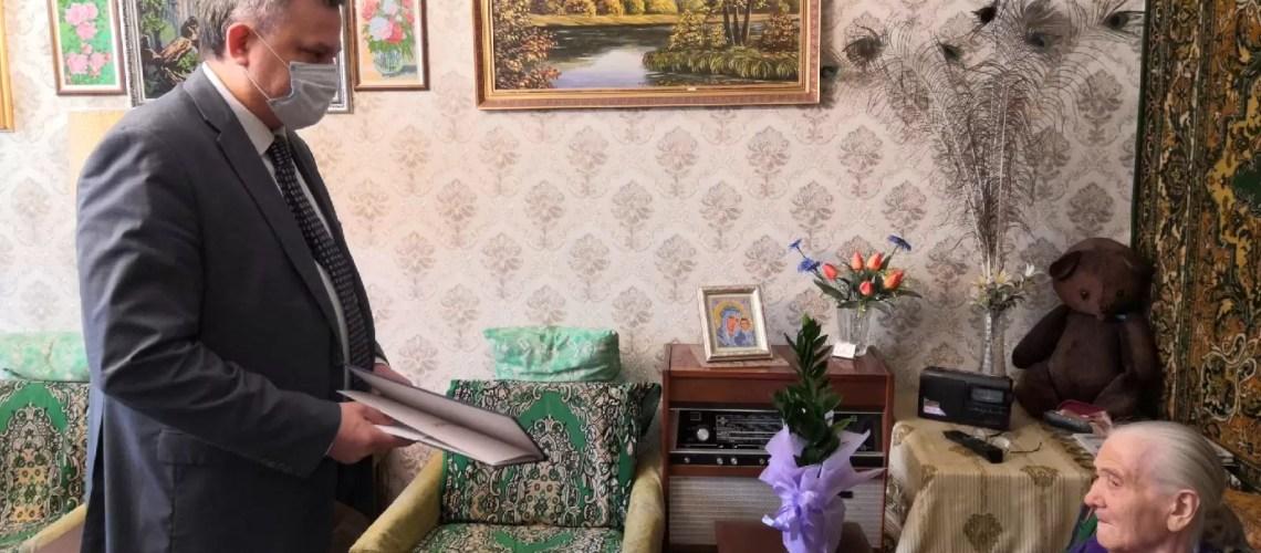 Сегодня 19.01.2021 мы поздравляем с 95-летним юбилеем ветерана Великой Отечественной войны-труженицу тыла, Кутузова Варвару Александровну.