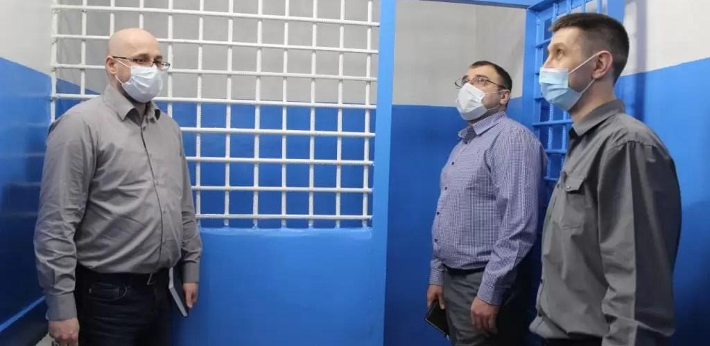 Представители Общественной наблюдательной комиссии ХМАО-Югры посетили изолятор временного содержания ОМВД России по г.Нефтеюганску.