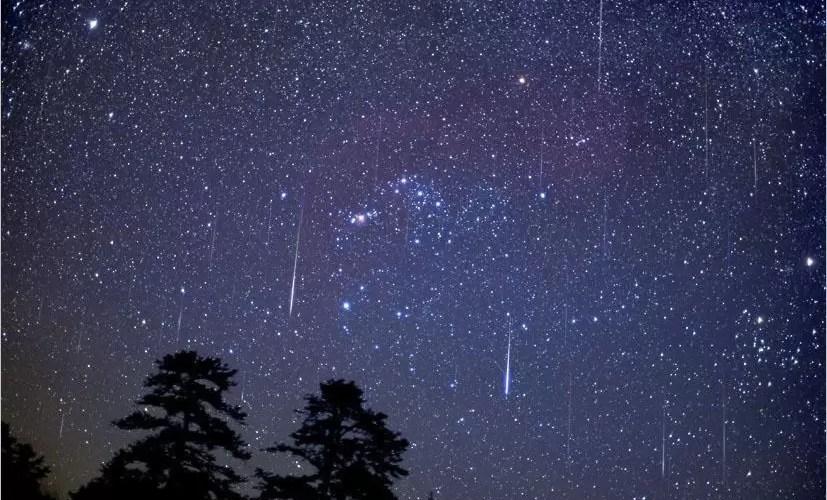 В апреле жители России увидят звездопад