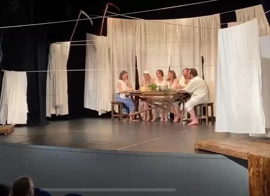 Премьера спектакля «Люди добрые»