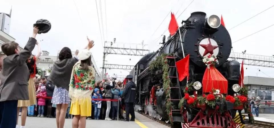 Легендарный музей «Поезд идет на Восток» уже на пути в Сургут