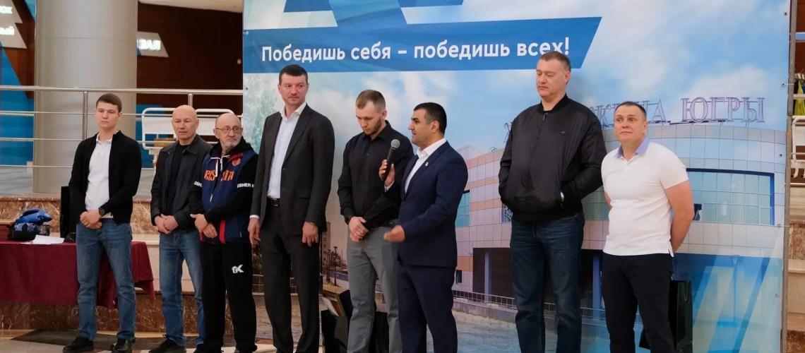 В ЦФКиС «Жемчужина Югры» открылся новый зал для занятий боксом.