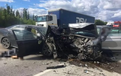 За сутки на дорогах ХМАО погибли два человека