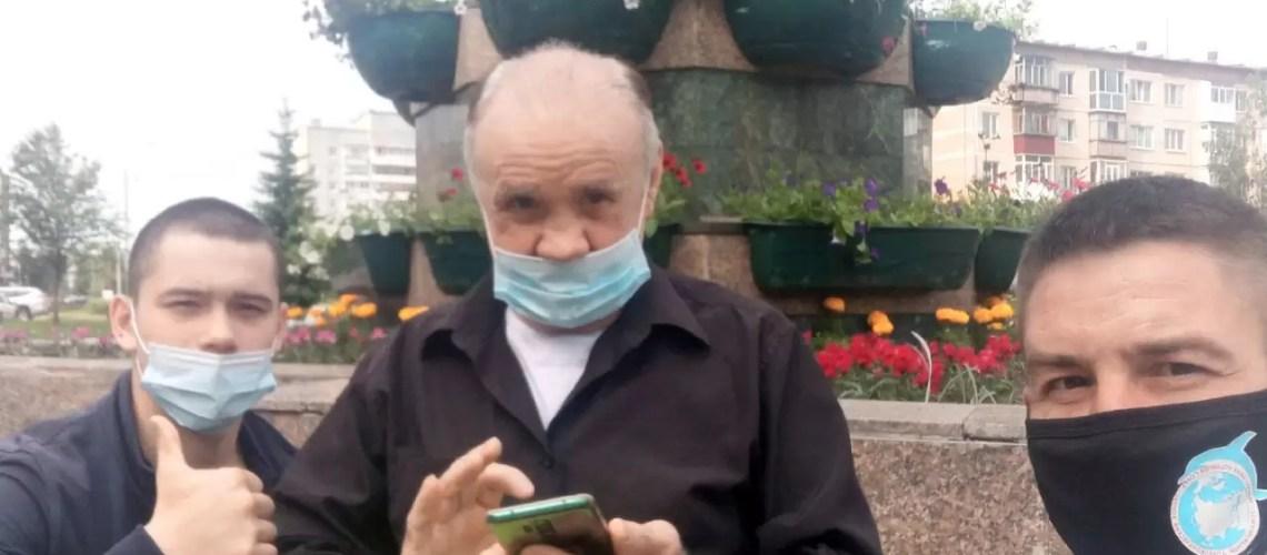 Как волонтеры Гумкорпуса помогли выжить пожилому инвалиду из Нефтеюганска