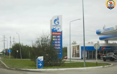 Росстат: бензин и дизтопливо подешевели впервые за год