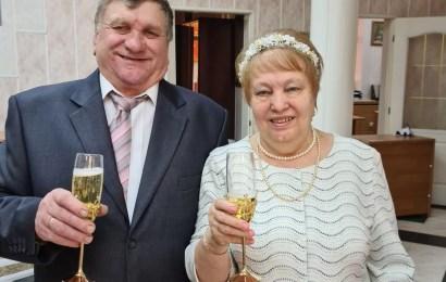 Супруги Ивановы из Нефтеюганска отметили золотою свадьбу