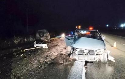 Спешащая автоледи спровоцировала аварию с пострадавшими на трассе «Тюмень – Ханты-Мансийск»