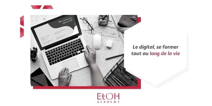 Visuel Blog Le digital, se former tout au long de la vie