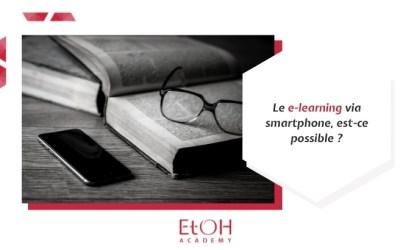 Le e-learning via smartphone, est-ce possible ?