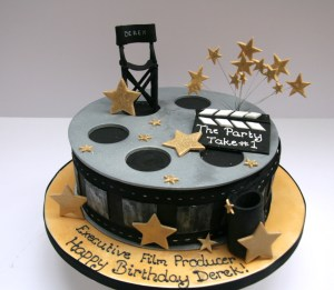 Film Producer Cake