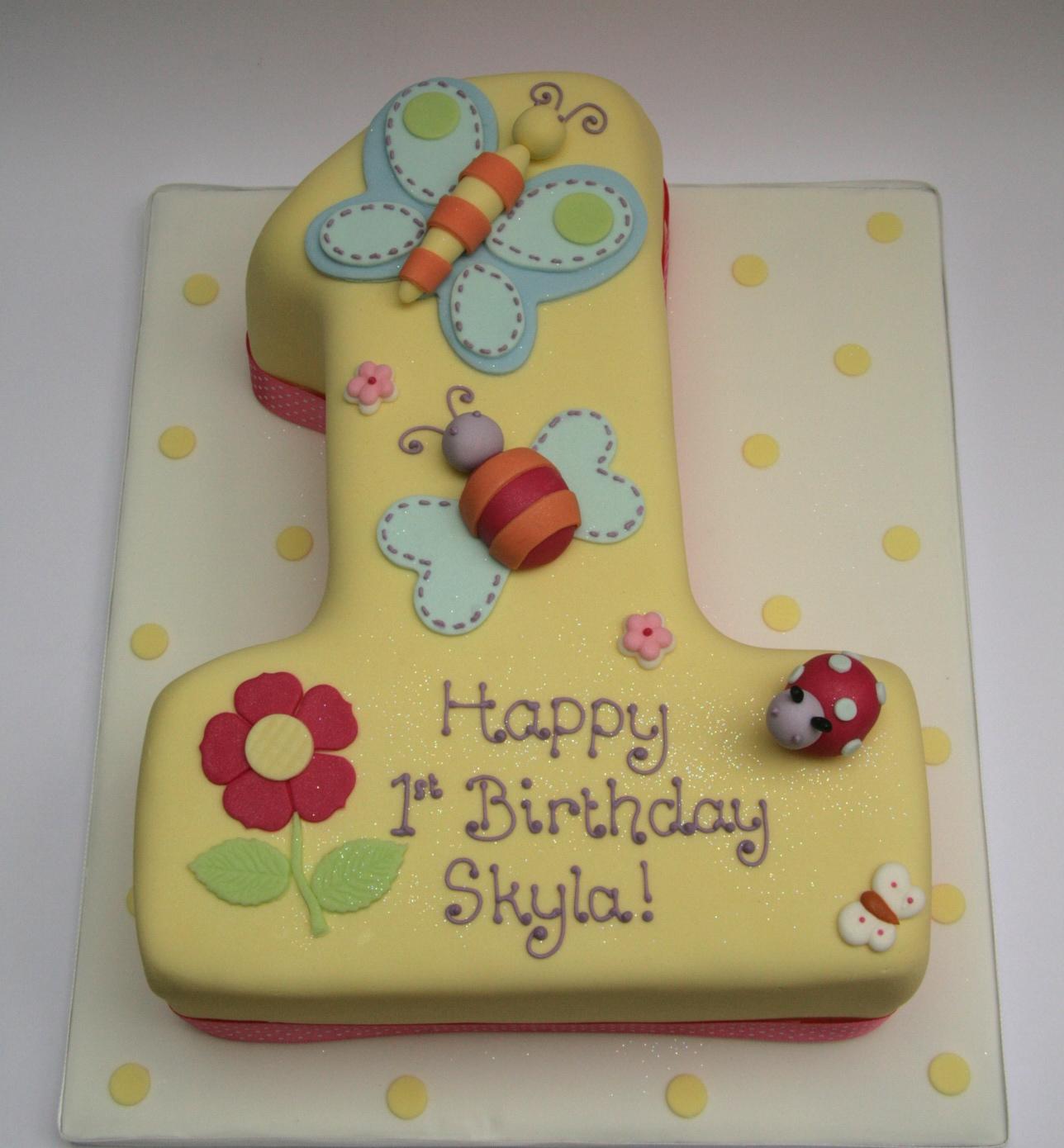 Number 1 Birthday Cake – Etoile Bakery