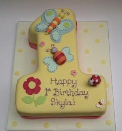 Number 1 Cake