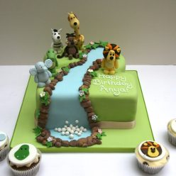Raa Raa the Lion and Friends Birthday Cake