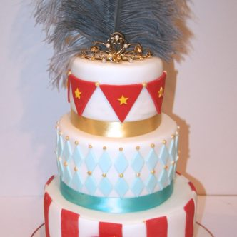 Show Girl Cake