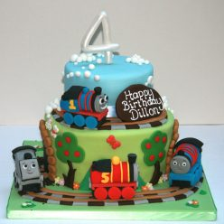 Tiered Thomas Birthday Cake