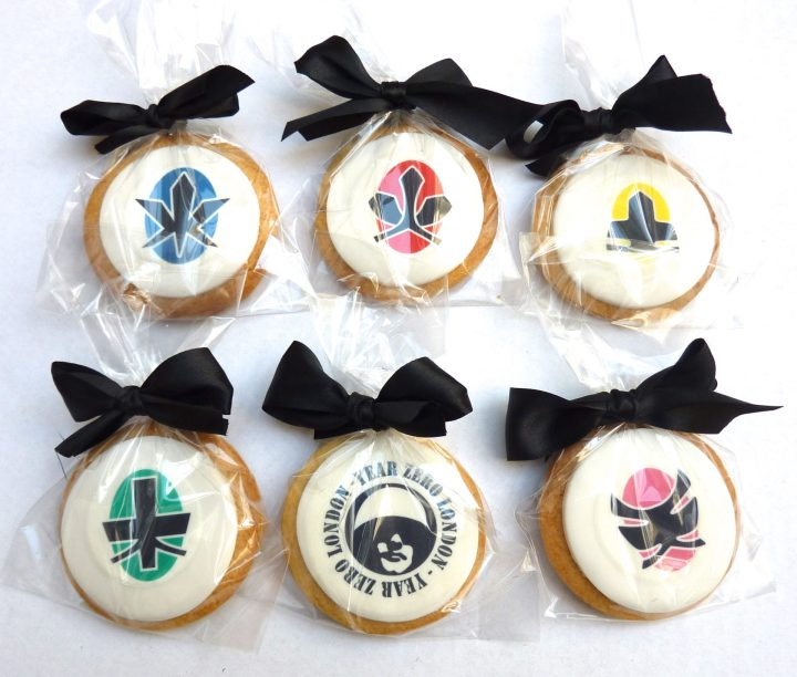Bespoke Power Rangers Cookies