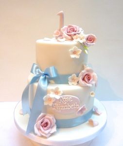 Rose Birthday Cake