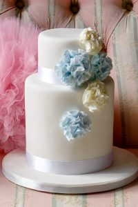 Pom Pom Wedding Cake